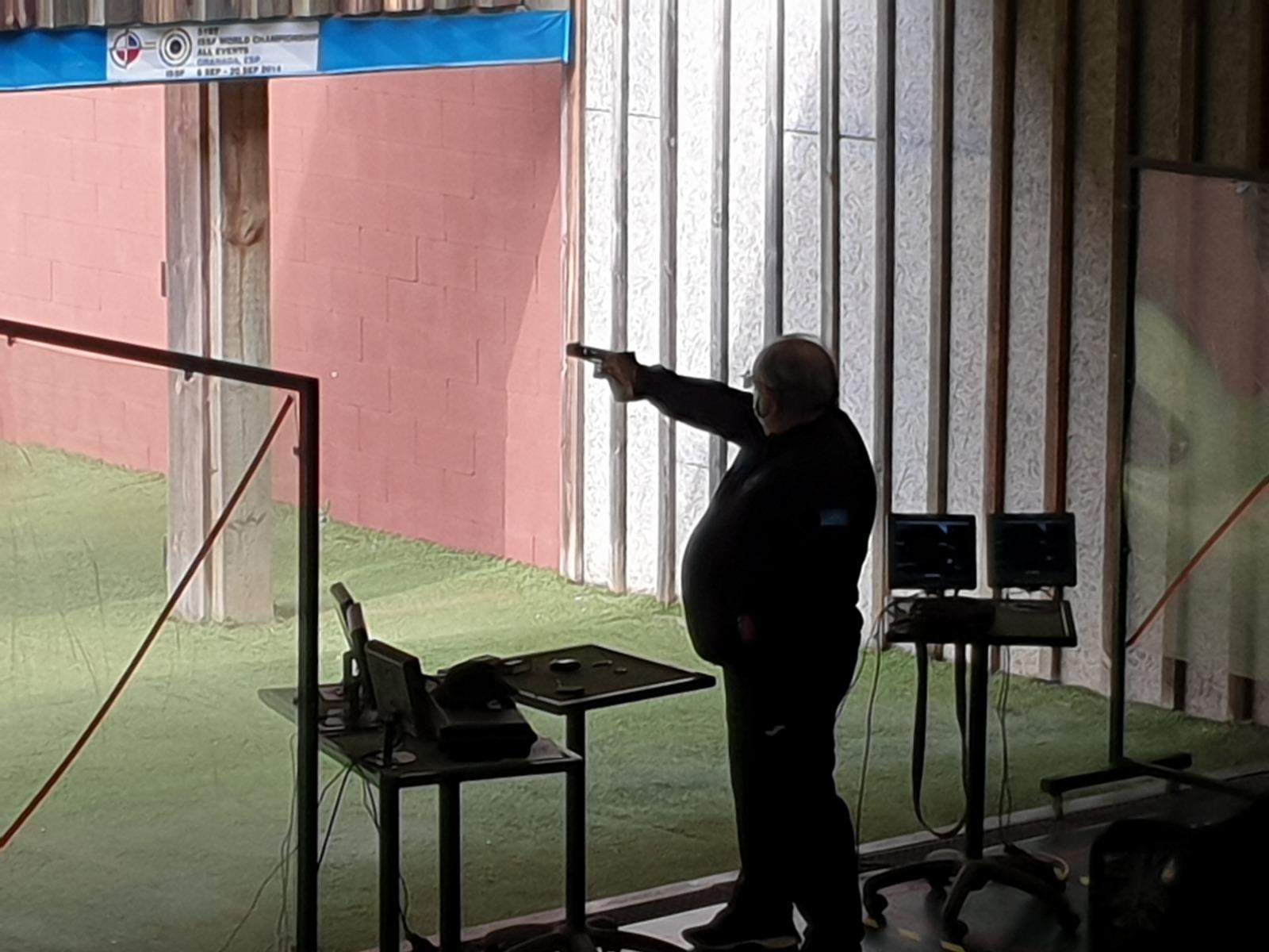 José Rubiera, Segundo puesto en Pistola Velocidad